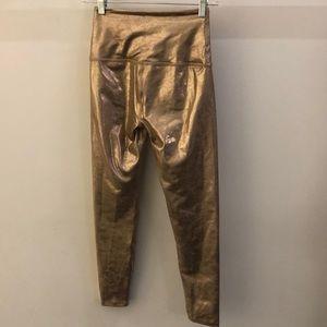 Beyond Yoga Pants - Beyond Yoga rose gold legging, sz S, 70936